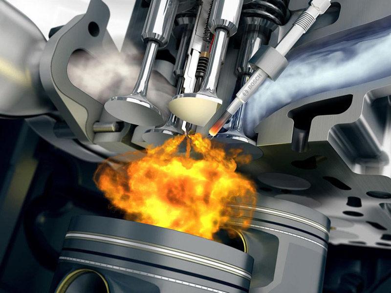 Воспламенение паров в двигателе
