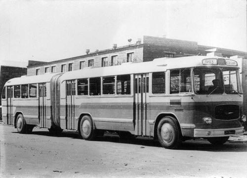 ЛиАЗ-5Э-676 появился на улице для только испытаний и затем пропал