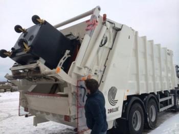 мусоровоз на шасси Scania-P360