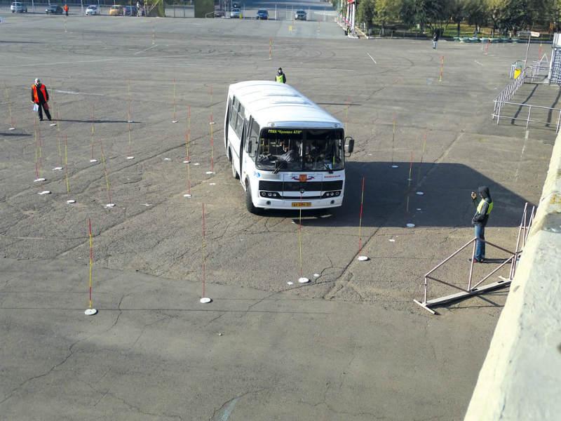 конкурс водителей автобусов