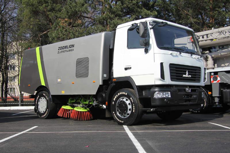 МАЗ и Zoomlion представили коммунальную машин