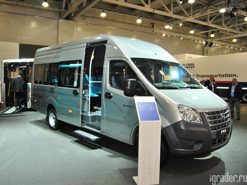 Микроавтобус «ГАЗель NEXT» 4.6 с АКПП
