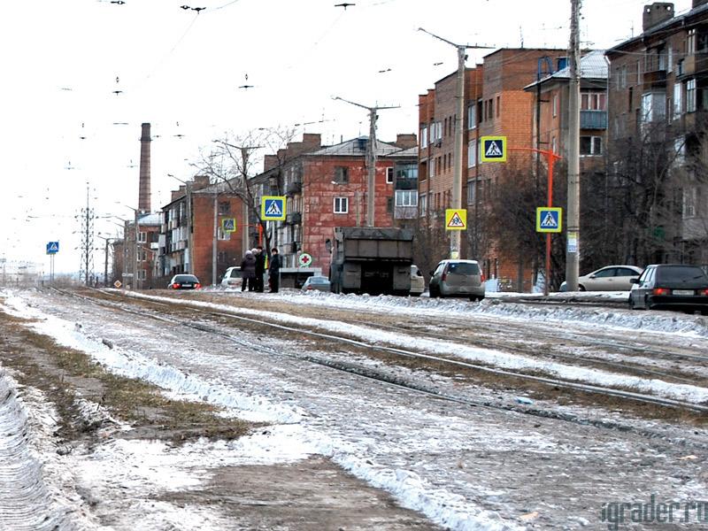 Состояние дорог Красноярска в зимний период