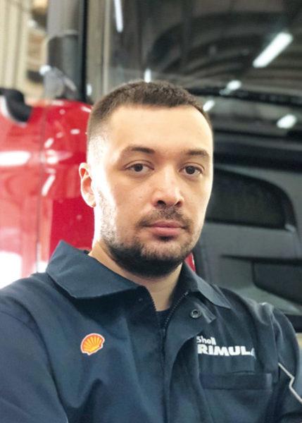 Технический специалист в области диагностики двигателей Shell LubeVideoCheck ООО «Технологический сервис» Андрей Манчын