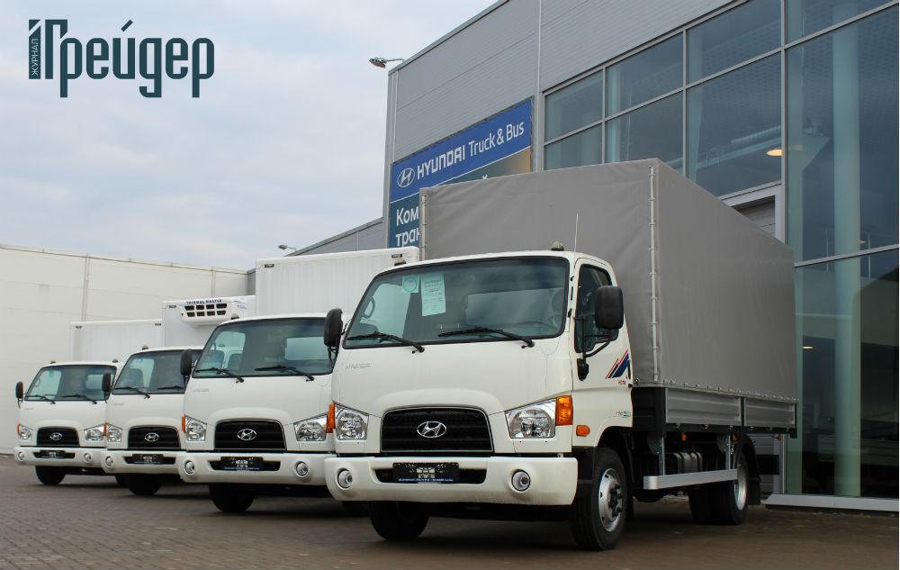 Автомашины Hyundai