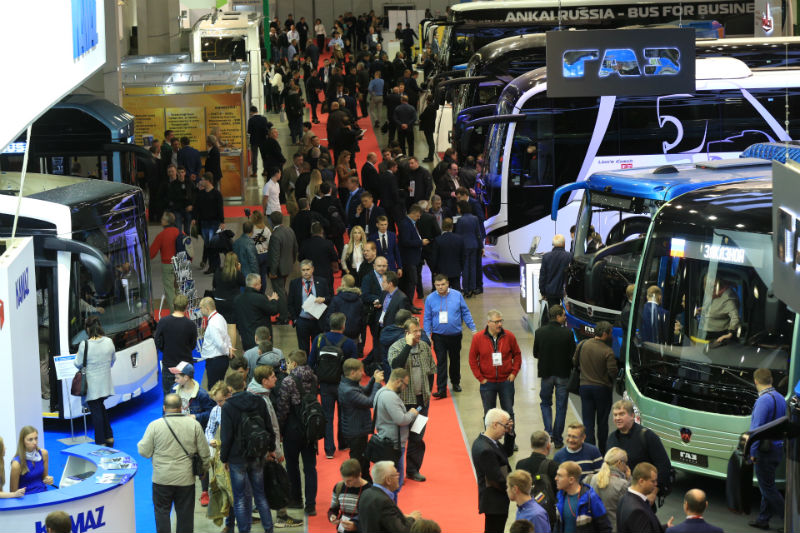 На выставке BusWorld - 2018