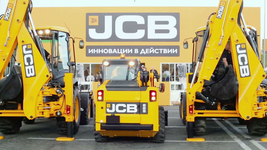 Техника компании JCB
