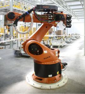 Промышленный робот манипулятор kuka