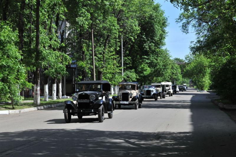 Ретро-ралли ГАЗ-4