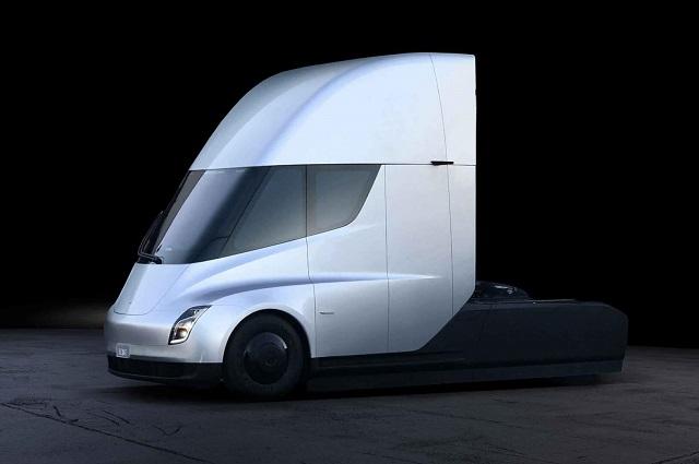 Эктрический грузовик Tesla