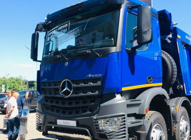Mercedes-Benz Arocs 4145 K