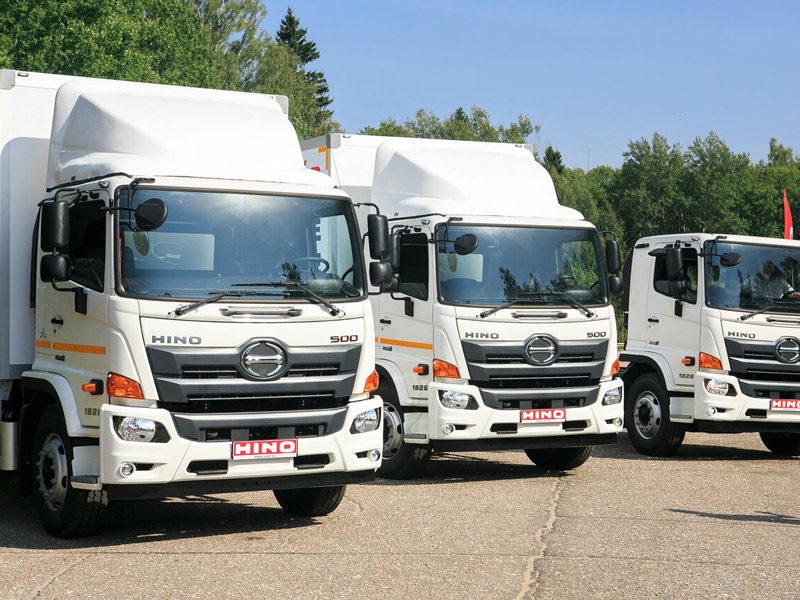 Модели грузовиков HINO