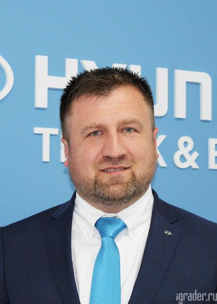 Исполнительный директор Hyundai Truck and Bus Rus Сергей Богомил