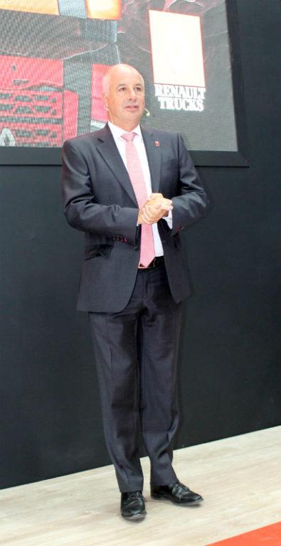 Бруно Блан, президент Renault Trucks