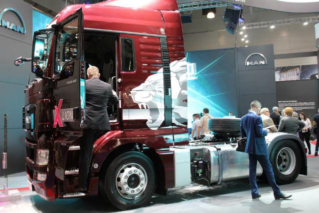 Стенд MAN Truck & Bus