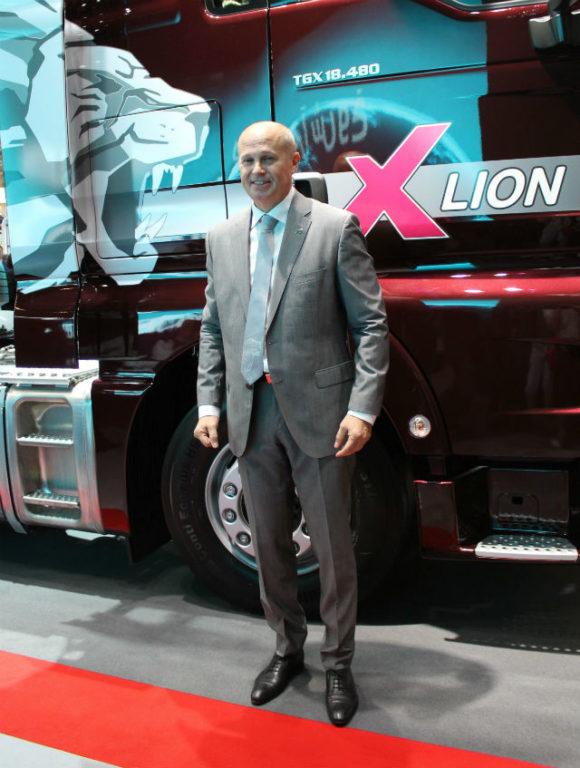Глава MAN Truck & Bus в России Питер Андерссон