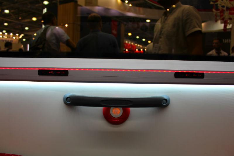 USB-разъёмы в салоне МАЗ 303