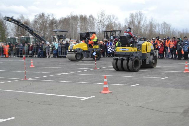 Соревнования дорожников в Красноярске