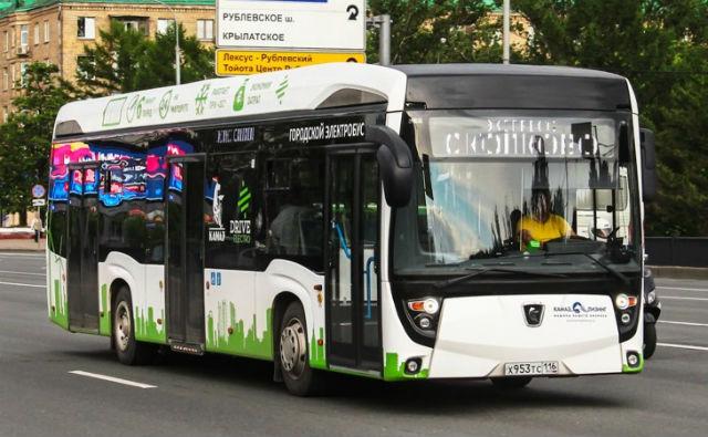 Электробус КамАЗ-6282