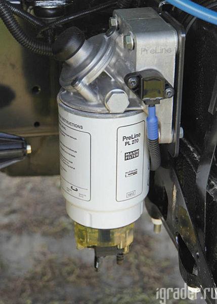 Оригинальный топливный фильтр «Садко Next» от Mann
