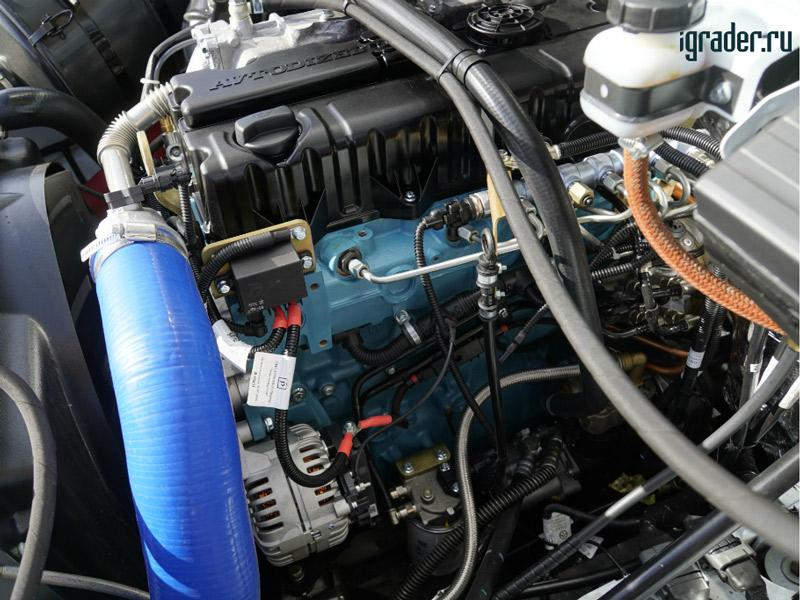 Под капотом «Садко Next» расположен турбодизель ЯМЗ-534 мощностью 149 л. с.