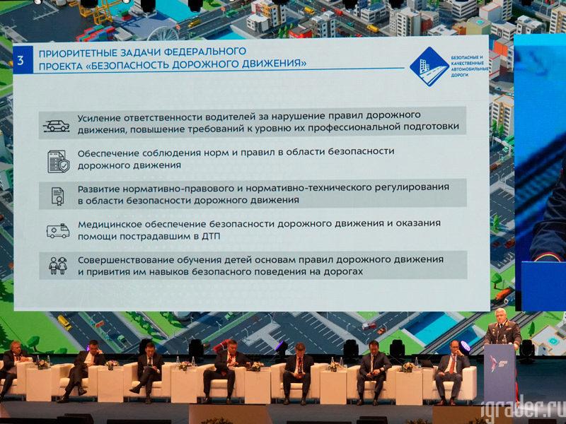 Начальник ГУ по обеспечению безопасности дорожного движения МВД РФ Михаил Черников