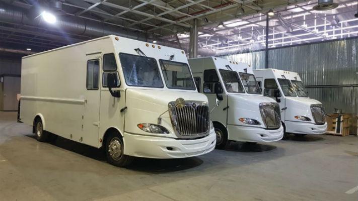 Фургоны AA Cater Truck