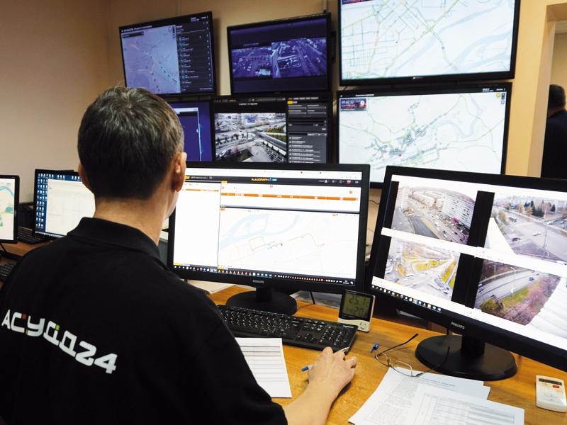 Современная автоматизированная система управления дорожным движением
