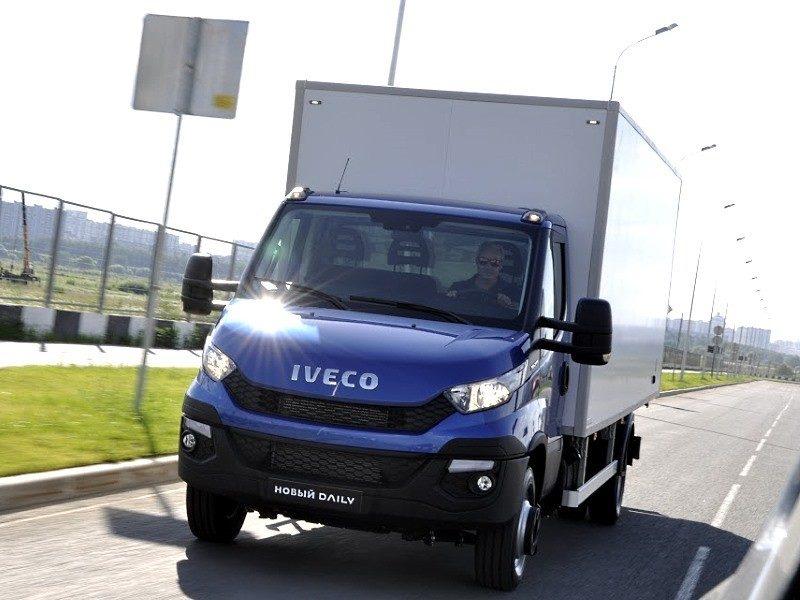 Развозной фургон на базе шасси Iveco Daily 50C15