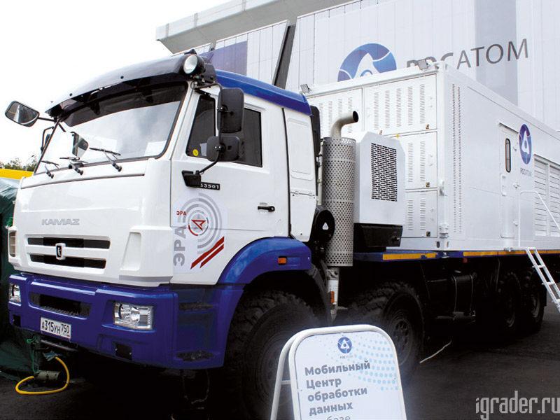 мобильнЫЙ центр обработки данных (ЦОД) на базе автомобиля КамАЗ