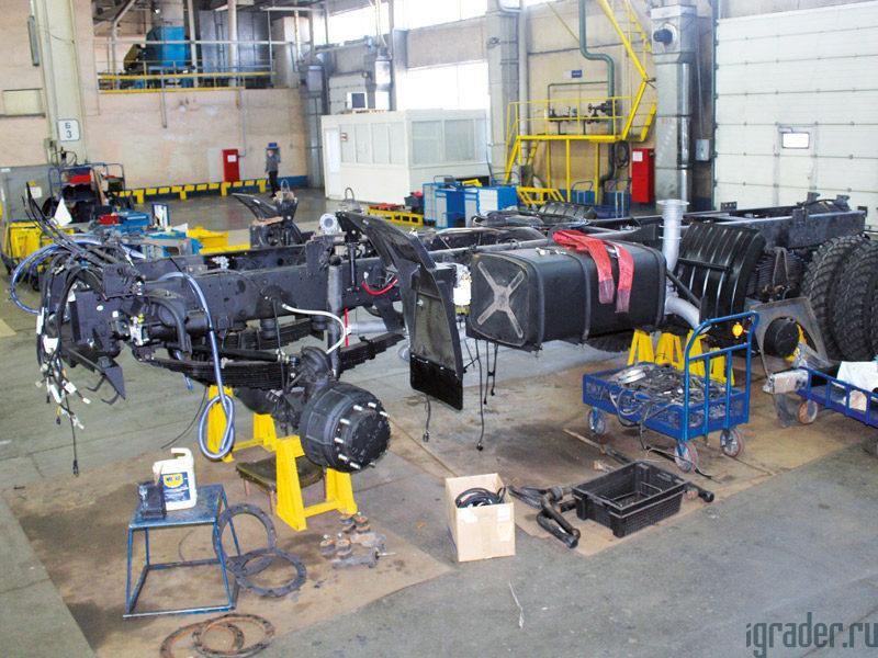 заводской ремонт грузовиков