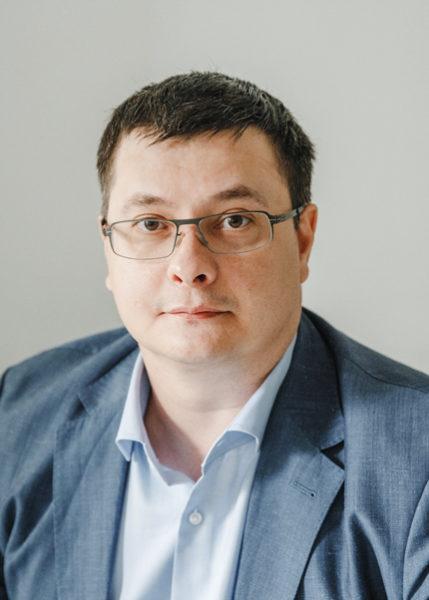 Генеральный директор логистической компании «Точка-Точка» Артем Марчук