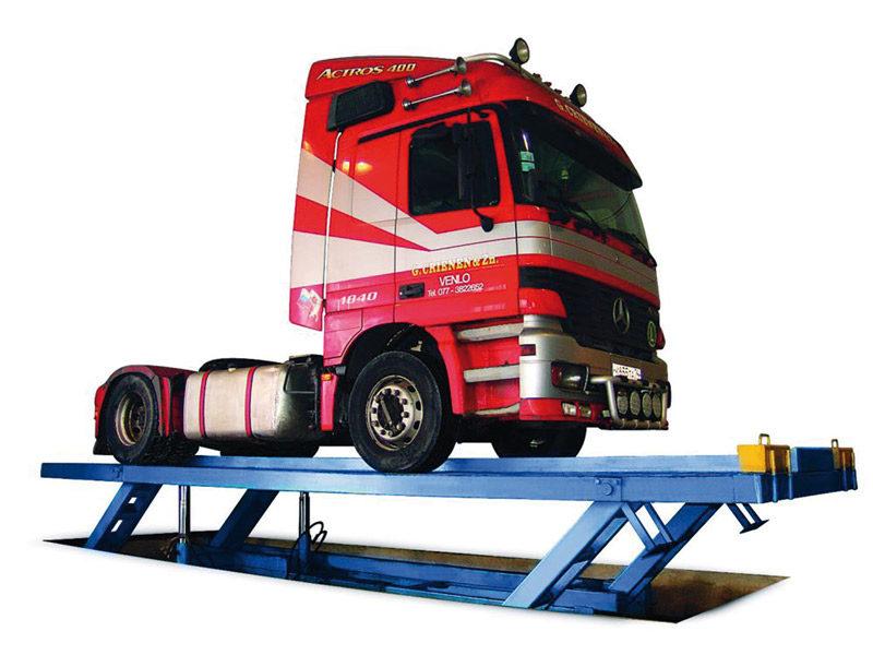 Подъемник грузовой техники