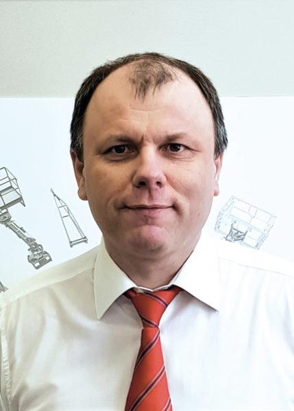 Менеджер отдела послепродажного обслуживания ООО «Маниту Восток» Михаил Тихонов