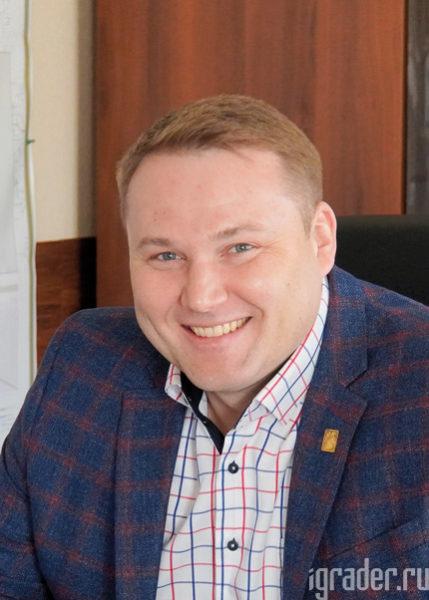 Директор Берёзовского филиала АО «КрайДЭО» Антон Фрейлин