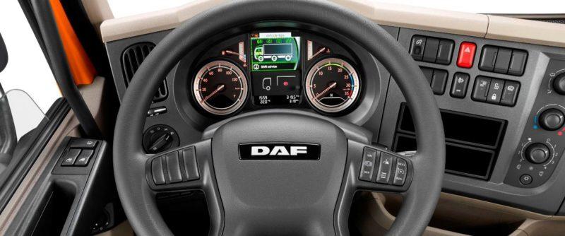 Интерьер DAF LF 2016 года