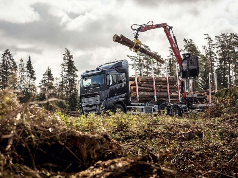 Седельный тягач Volvo FH16