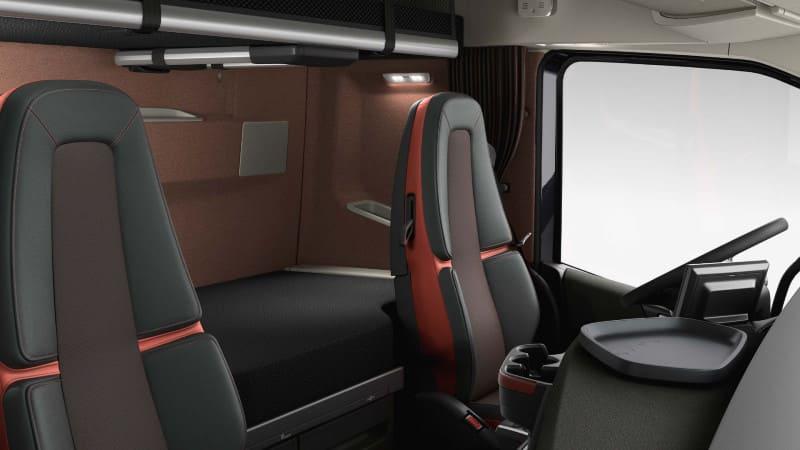Салон Volvo FH16