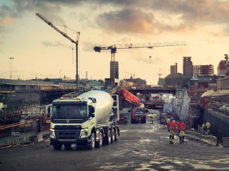 Volvo FMX бетоносмеситель