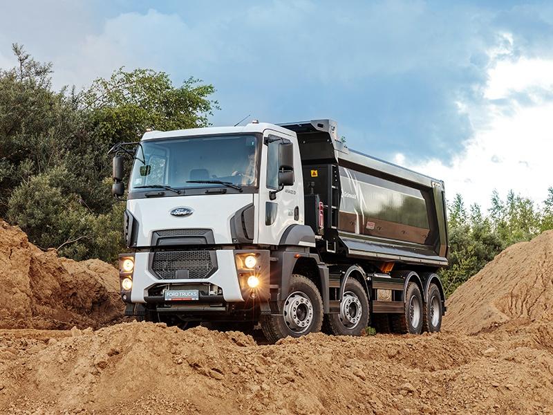 Новинка специально для России: самосвал Ford Trucks 4142D