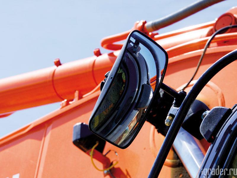 Зеркало заднего вида экскаватора Hitachi Zaxis 470LC-5G