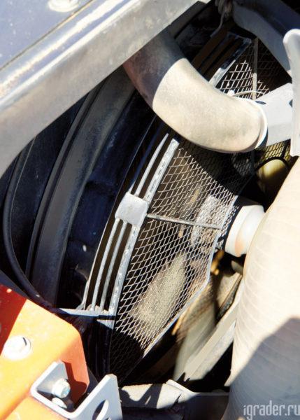 Вентилятор охлаждения двигателя экскаватора Hitachi Zaxis 470LC-5G