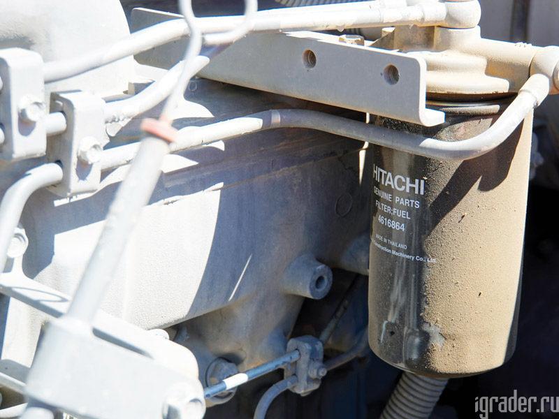 Топливный фильтр экскаватора Hitachi Zaxis 470LC-5G
