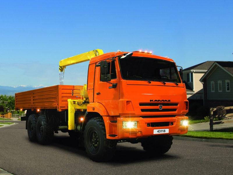 КАМАЗ 43118 - лидер продаж грузового рынка в июле 2020 года