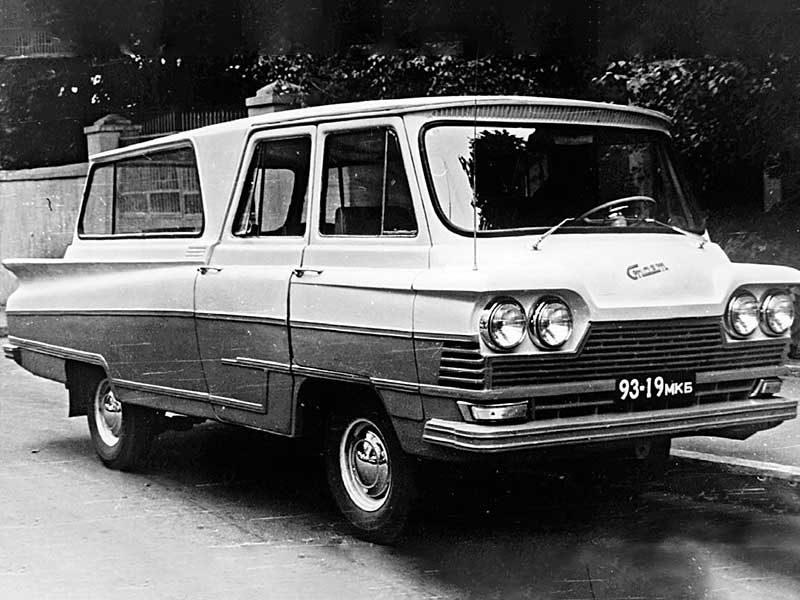 Микроавтобус «Старт», или как дизайн не спас непрактичность