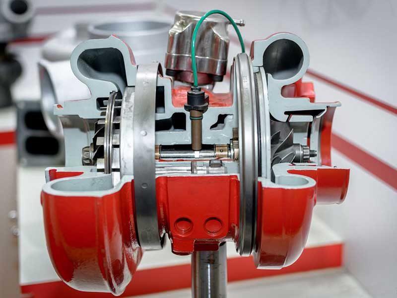 Восстановление турбокомпрессоров для спецтехники