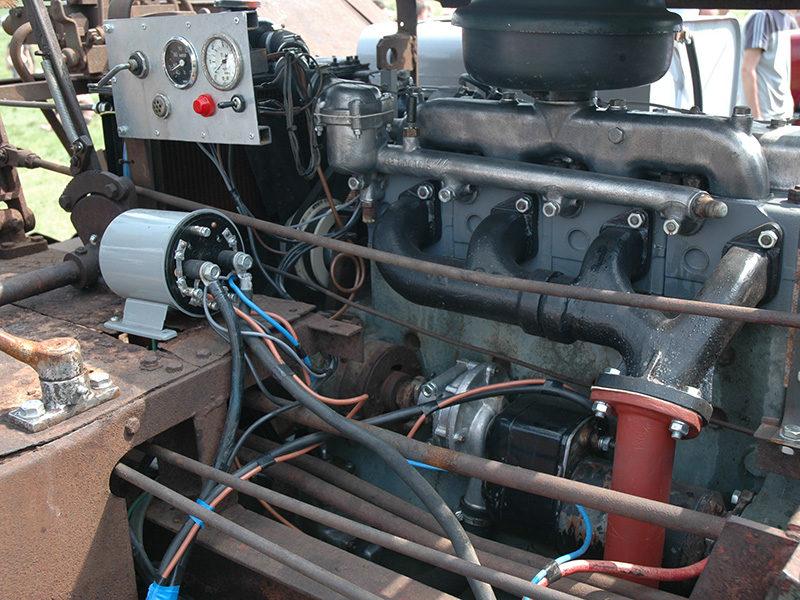 Занятный венгерский думпер-трактор DR-50 Dutra