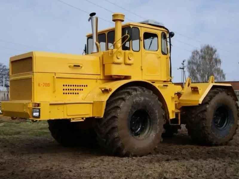 Трактор «Кировец» К-700: альтернатива John Deere из СССР