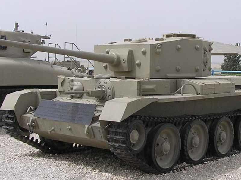 танк Кромвель 1944