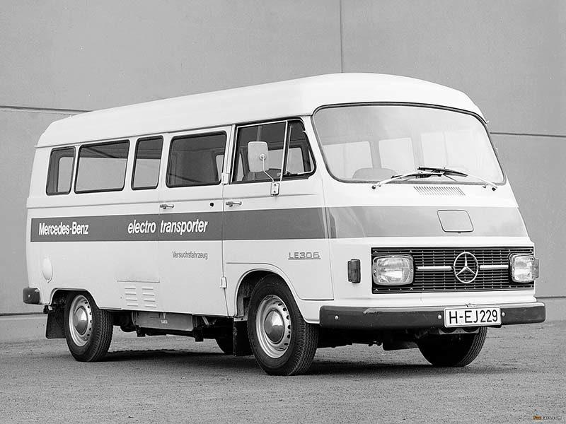 Mercedes-Benz LE 306: ретро электрокар с батареей под брюхом
